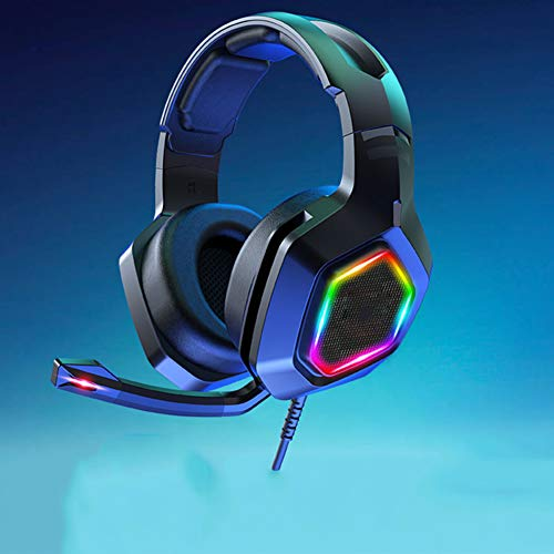 DZSF Gaming Headset Jeu Mobile Casque De Bureau Portable E-Sports Jeux Universal Music Vibration Bruit Casques