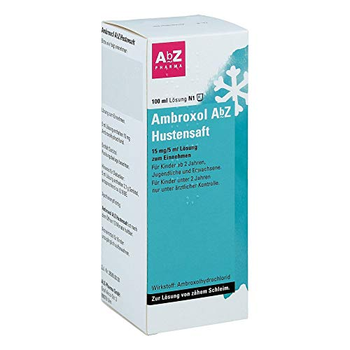 AMBROXOL AbZ Hustensaft 15 mg/5 ml 100 ml