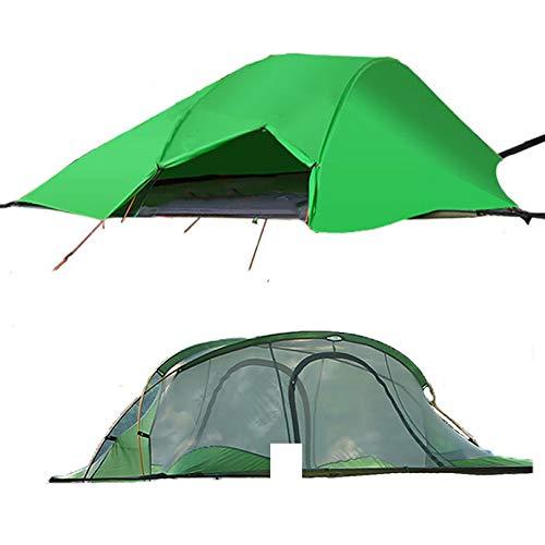 WintMing Hamaca de Camping para 2 Personas con mosquitera y