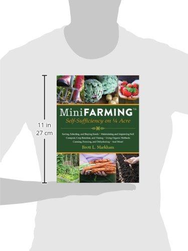 419gSL68oDL. SL500  - Mini Farming: Self-Sufficiency on 1/4 Acre