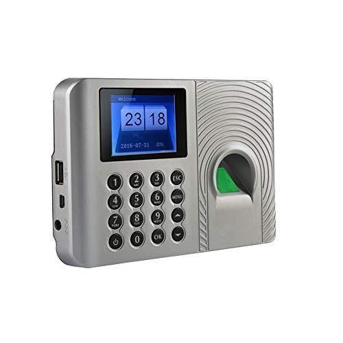 HEQIE-YONGP Timeuhren für Mitarbeiter Kleinunternehmen Biometrischer Fingerabdruck-Zeit-Anwesenheits-Clock Mitarbeiter Digital elektronische Voice Reader-Maschine
