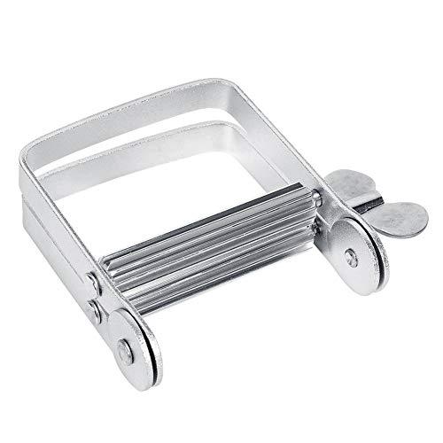 Exprimidor De Tubos, Herramienta para Enrollar Tubos De Aluminio para Exprimidor Adecuado para El Kit De Rodillo De Escurridor De Pasta De Dientes ⭐