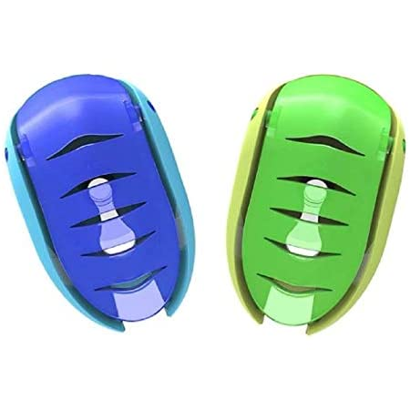 4PCS Portable Home Bathroom Smile Face Toothbrush Holder Cover Case Suction RAS