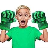 Guantes de Boxeo Gigantes de Hulk | Superhéroes | Juguetes para niños | Puño de Espuma con Correas | Cosplay | Juegos | Halloween | Disfraz | OriginalCup®