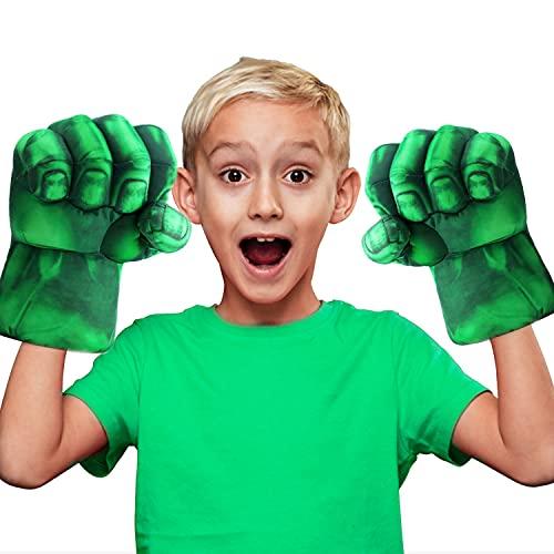 Guanti da Boxe giganti di Hulk | Supereroi | Giocattoli per Bambini | Pugno di Schiuma con Cinghie | Cosplay | Giochi | Halloween | Travestimento | Costume | OriginalCup®