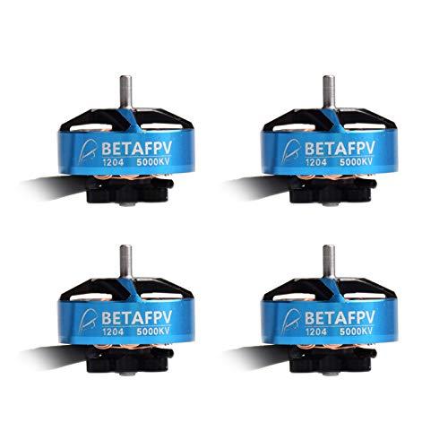 BETAFPV 4pcs 1204 5000KV Brushless Motor 3-4S FPV Motor for 2-3inch Micro Quadcopter FPV Racing Drone