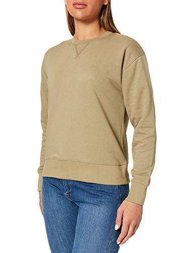 GANT Damen ORIGINAL C-Neck Sweat Sweatshirt, Aloe Green, M