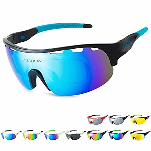 Gafas de sol polarizadas deportivas Pit Viper Gafas de ciclismo para hombres y mujeres, protección UV, polarizadas, para correr, montañismo, golf, vacaciones, carreras, senderismo