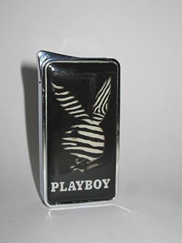 Original Playboy Elektronikfeuerzeug - elektronisches Feuerzeug- Jet Flame Serengeti-Design A2
