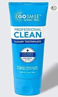 GO SMILE Luxury Toothpaste 2 pack