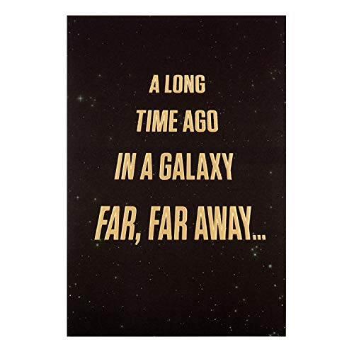 Hallmark Geburtstagskarte, Motiv: Star Wars