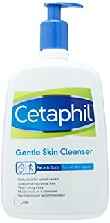 Cetaphil Gentle Cleanser, 1L (B00AR6PUOS)   Amazon price tracker / tracking, Amazon price history charts, Amazon price watches, Amazon price drop alerts
