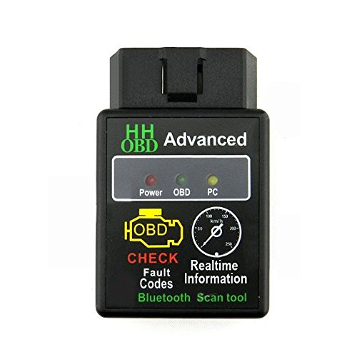 Ndier Mini elm327strumento di scanner di adattatore Wireless Bluetooth v2,1OBD2per auto
