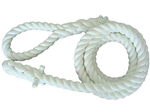 クレモナ製 ターザンロープ(登り綱) 28mm 標準アイ(ワッカ) (3M)