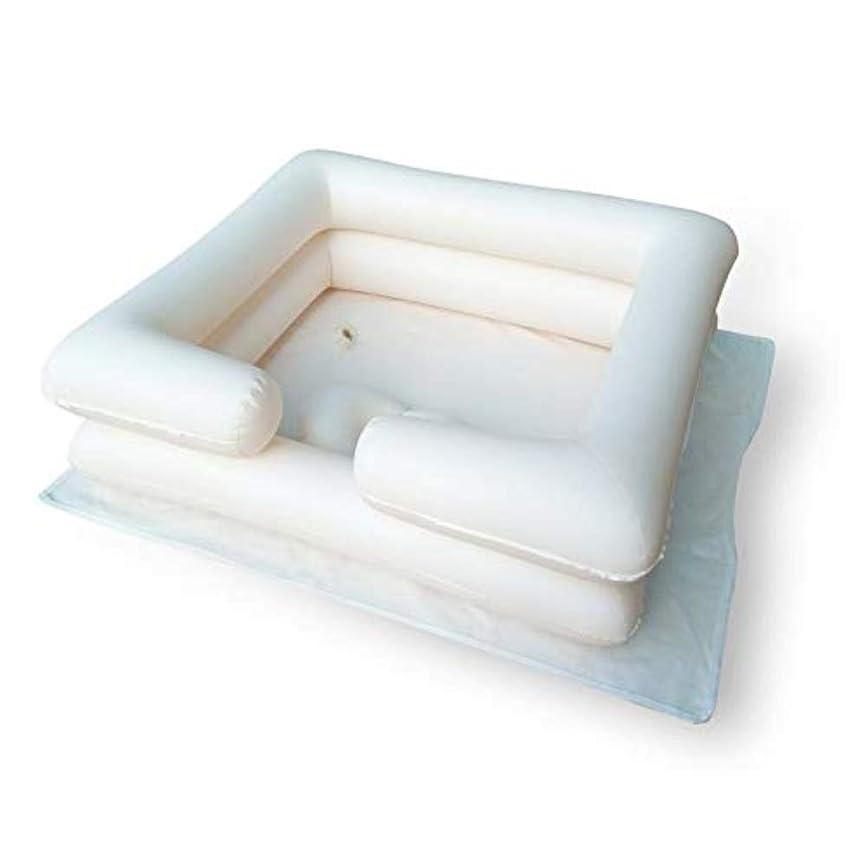 蚊警察欺く膨脹可能なシャンプーの洗面器の入浴用具-ベッドの毛を洗いなさい