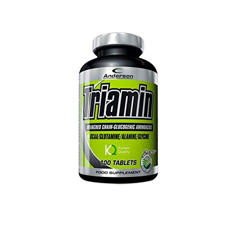 Anderson TRIAMIN COMPLEX | Branched Chain (BCAA) and glucogenetic amino acids 100 gr