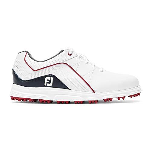 Foot Joy Junior, Chaussures de Golf garçon, Blanc...