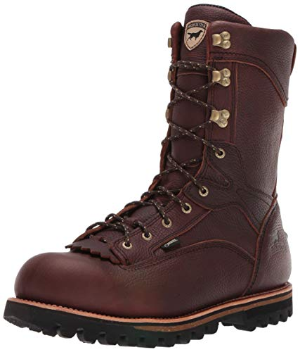 Irish Setter Men's 860 Elk Tracker Waterproof 1000 Gram 12' Big Game Hunting Boot,Brown,9 D US