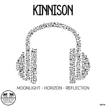 Moonlight - Horizon - Reflection