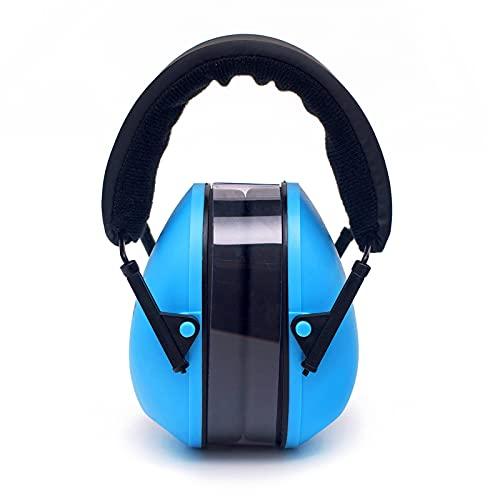 Protección auditiva Orejeras de Protección con 27dB SNR Cascos Ajustables con Cancelación de Ruidos Auditivos Ruido ProteccióN Auditiva Laboral para Caza Disparo Estudiar, Dark Blue