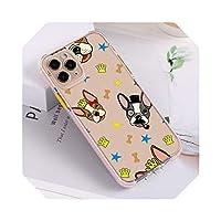 かわいい漫画のケースFor iPhone12ケースShockProofシリコンFundasOn For iPhone 11 Pro Max 7 8 XR SE 2020 66sプラスミニカバー-3S075-For iPhone 12 Pro
