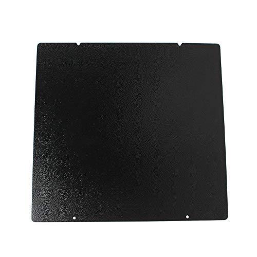 Toaiot 3D - Impresora de plataforma de cama caliente (textura de doble cara, placa de acero con muelle PEI con recubrimiento en polvo 254x241 mm / 10x9.4' para Prusa i3 MK3 MK2.5