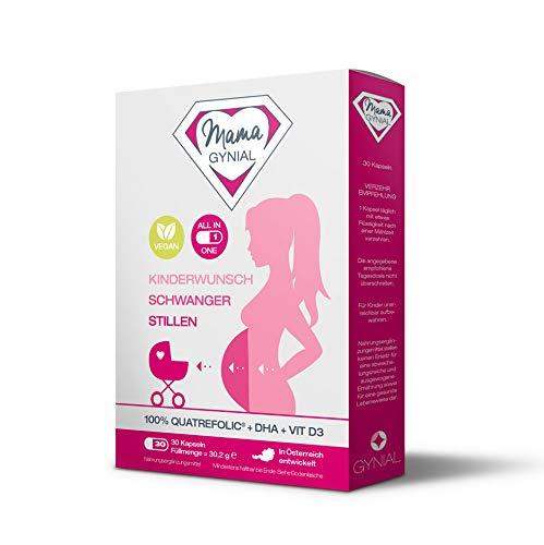 MamaGynial für Kinderwunsch, Schwangerschaft & Stillzeit