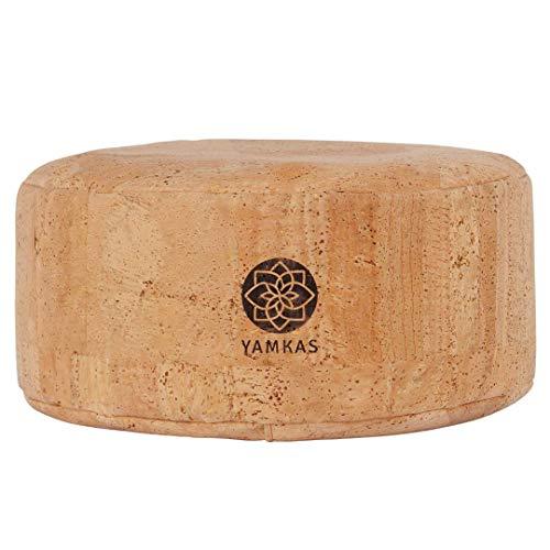 Yamkas Cork Meditation Cushion (Natural Cork)
