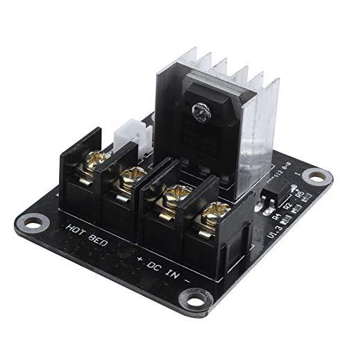 Fltaheroo 3D Modulo di Espansione Mosfet della Piastra di Stampa con Cavo 2 Pin Anet A8 A6 A2 Compatibile Nero