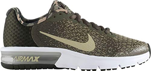 Nike Air Max Sequent 2 Bg, Scarpe Running Unisex-Adulto, Multicolore (Cargo Khaki/Neutral Olive/Sequoia 300), 38.5 EU