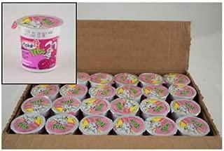 Yoplait Trix Raspberry Rainbow Yogurt, 4 Ounce -- 48 per case.