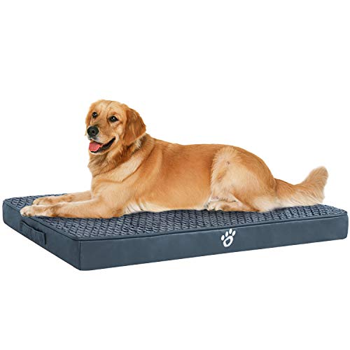 OQQ Pet Mat with Machine Washable Removable Covers, Orthopedic Dog Bed for Small | Medium | Large | Jumbo Dogs Bed Mats