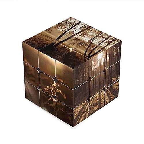 N\C Cubo de Rubik Impreso Imagen Personalizada DIY Speed Puzzle Rubik Cubo de Rubik