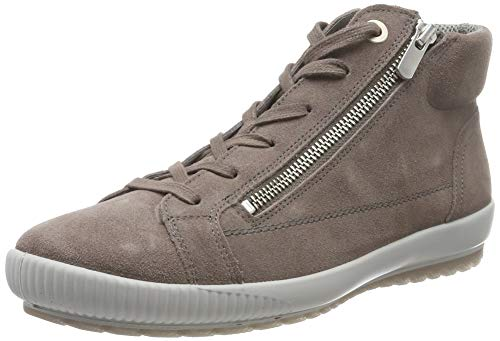 Legero Damen Tanaro Hohe Sneaker, Braun (Dark Clay 57), 41 EU (7 UK)
