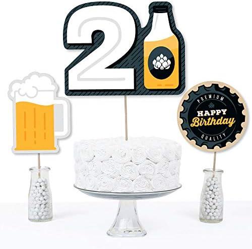 21st birthday centerpieces _image3