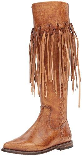 BED STU Women's Hoplia Boot, Tan Driftwood, 7.5 M US