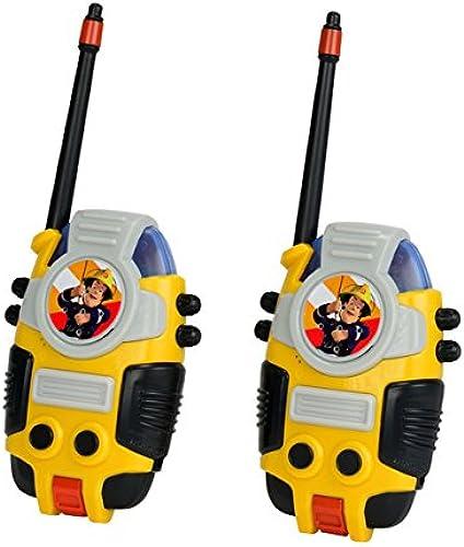 grandes ahorros Sam El Bombero - Set de de de 2 walkie talkies (Simba 3099611)  precios bajos todos los dias