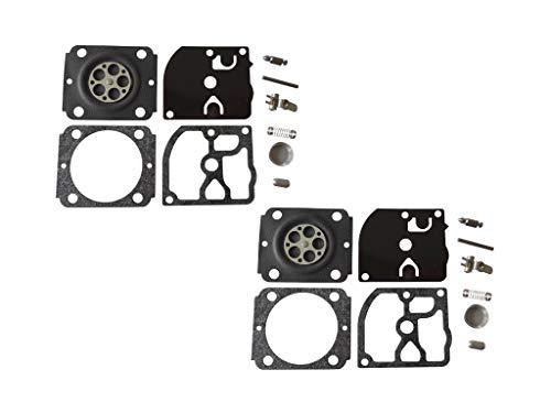 C·T·S Kit de reparación y reconstrucción de carburador sustituye a ZAMA RB-155 para Stihl Split Trimmer BG86 Blower ZAMA C1M-S141 C1M-S142 C1M-S145 C1M-S146 C1M-S151 (paquete de 2)