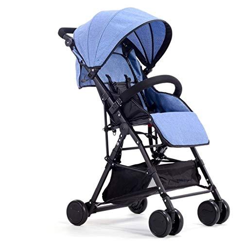 TQJ Cochecito de Bebe Ligero Cochecito de bebé Ligero Plegable para Viajes en avión Carruaje de bebé Ultraligero para niños para niños Recién Nacidos Baby shotchair (Color : #3)