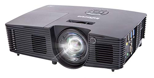 InFocus IN112XA Projector, DLP SVGA 3800 Lumens 3D Ready 2HDMI with Speakers (Renewed)