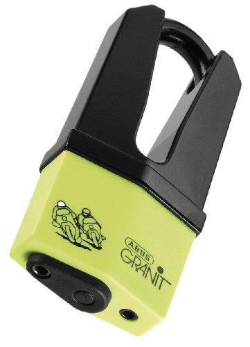 Abus 10009037 SRA Granit Quick 37 - Candado para frenos, color amarillo