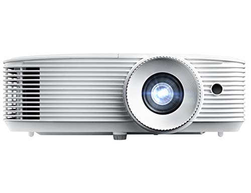 Optoma W412 WXGA DLP Professional Projector | High Bright 4400 Lumens | Business Presentations, Classrooms, and Meeting Rooms | 15,000 Hour lamp Life | 4K HDR Input | Speaker Built in