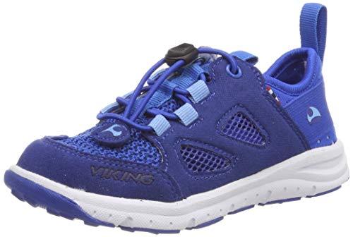 viking Unisex-Kinder BJERKE Cross-Trainer, Blau (Dark Blue/Blue 7635), 38 EU