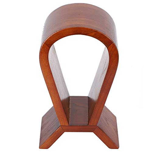 DAUERHAFT Soporte de madera para auriculares hecho a mano para casa
