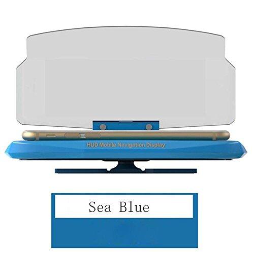 MK Support pour téléphone Portable Support téléphonique antidérapant pour téléphone Portable 164 * 102 * 31mm, Blue