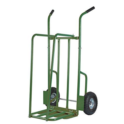 Ribiland Stahlholzwagen mit Rädern 250 kg Holzlast
