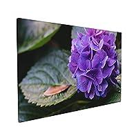 Skydoor J パネル ポスターフレーム あじさい 紫色 インテリア アートフレーム 額 モダン 壁掛けポスタ アート 壁アート 壁掛け絵画 装飾画 かべ飾り 40×60