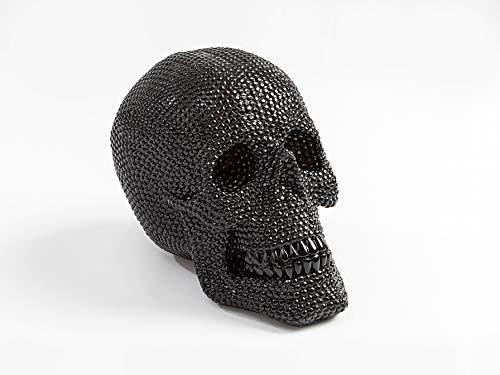 Schuller - Figuras Decorativas - Figura Calavera Negra (18x16)