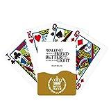 Cita sobre la amistad por Helen Keller Royal Flush Poker Juego de cartas