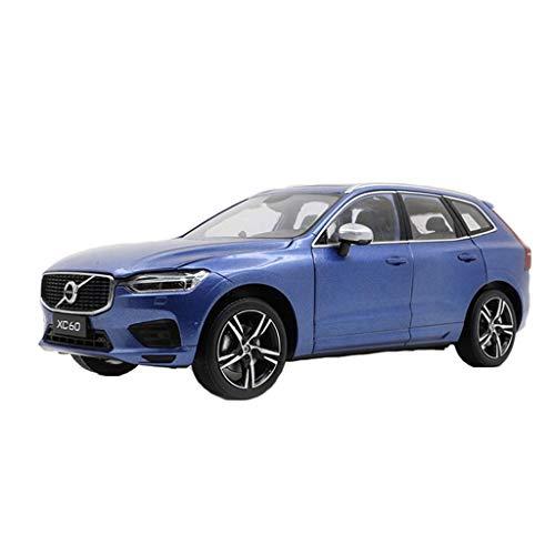 min min Sedan Model Recolección de Regalos de Lujo Compatible con Volvo XC60 2018 Muere Casting Coche Muchacho Coche Estático Proporción Modelo Coche Decoración Regalo (Color: Azul) (Color : Blue)